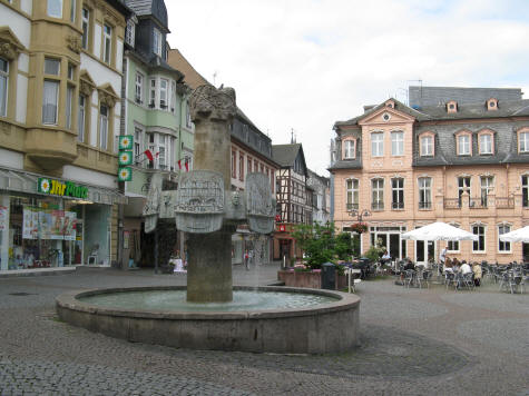 Bingen Germany Town Square
