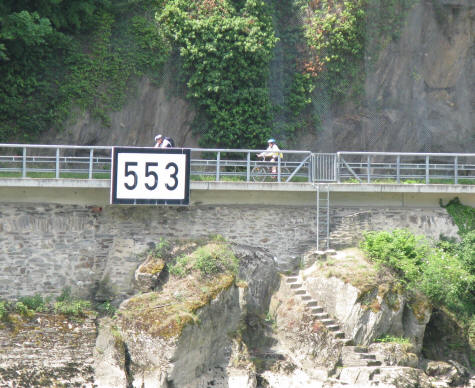Cycling on the Rhine River