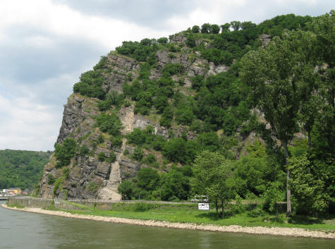 Loreley Rock on the Rhine River