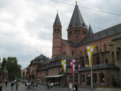 Cathedral in Mainz Germany (Dom)