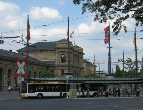 Mainz Train Station and Bus Depot