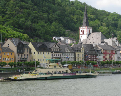 Ferry Service on the Rhine River
